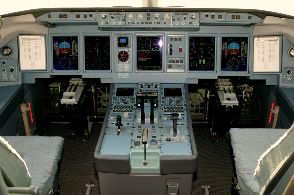 The aircraft dashboard of the Sukhoi Superjet 100 aircraft requires a large number of electrically conductive silicone seals to provide EMC and to combat electromagnetic interference. Photo - SuperJet International