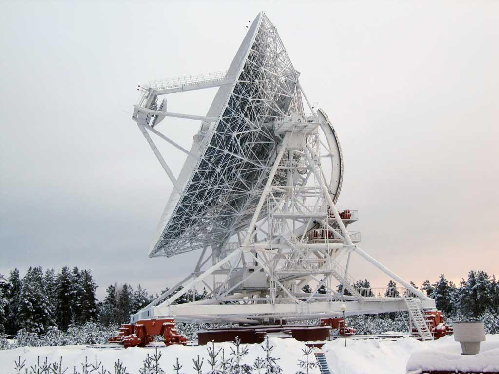Радиотелескоп РТФ-32 в обсерватории «Зеленчукская».