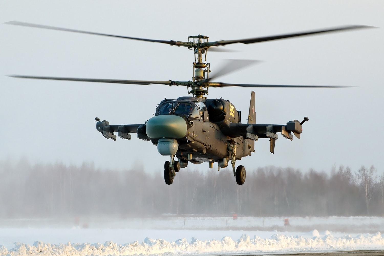 Ка-52 «Аллигатор» - российский разведывательно-ударный вертолёт оборудован радиолокационной станцией «Арбалет». Фото - Александр Бельтюков.