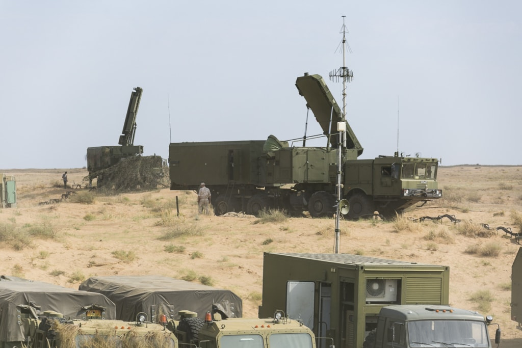 The all-altitude detection radar 96L6E of the anti-aircraft weapon system S-400 Triumph (NATO reporting name: SA-21 Growler). Radio-absorbing materials are widely used in radar target tracking systems. Photo - Mil.ru