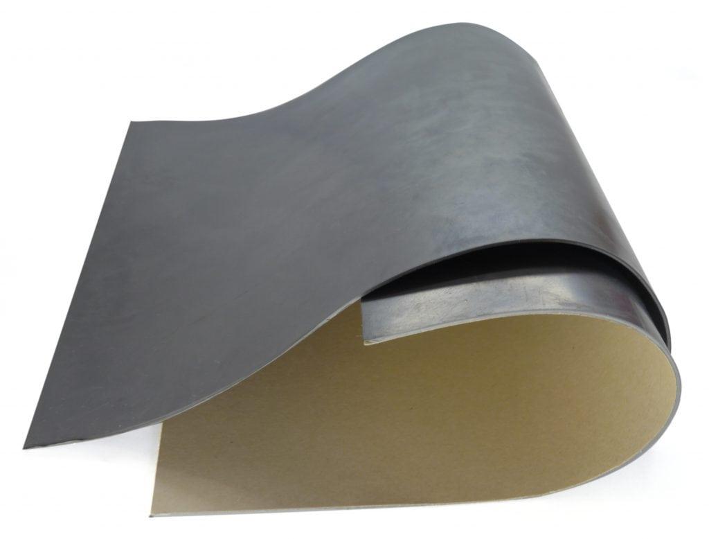 Широкополосный термостойкий гибкий листовой силиконовый поглотитель СВЧ-энергии с клеевым слоем