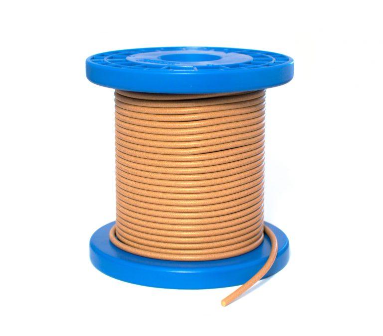 Сплошной токопроводящий эластомер круглый O-образный профиль для ЭМС