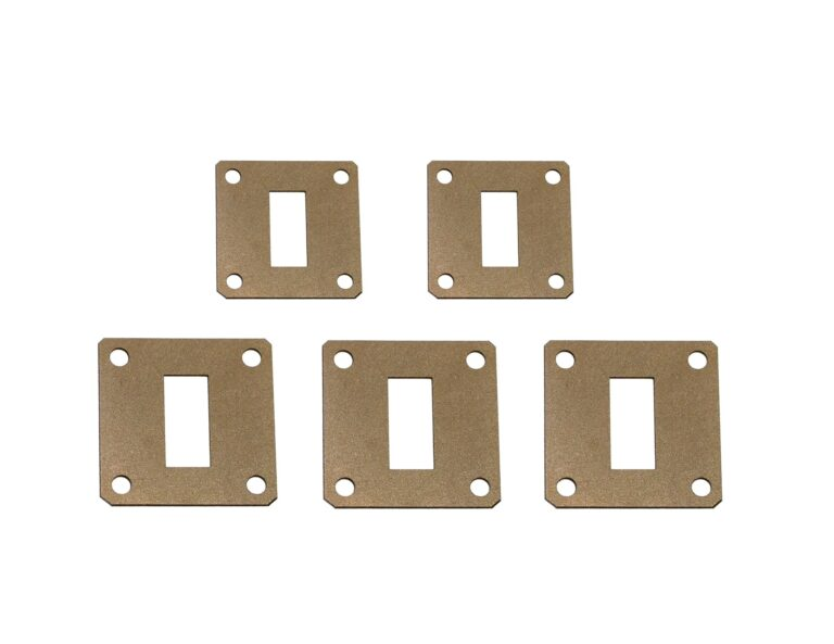 Экранирующие силиконовые прокладки ЗИПСИЛ ФП РЭП-01 для фланцевых соединений волноводов